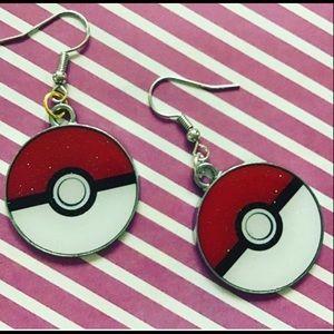 Pokémon charm earrings